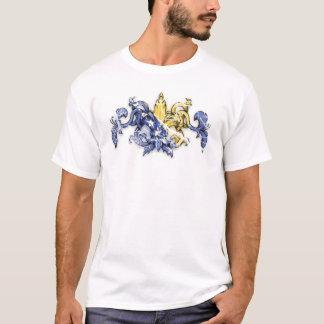 Fleur Flag Distressing T-Shirt