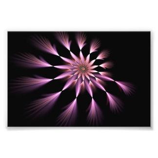 Fleur I - Élargissement de photo d'art de fractale
