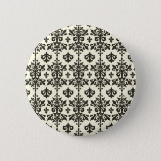 Fleur Pattern Button