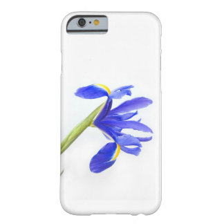 Fleur pourpre d'iris coque barely there iPhone 6