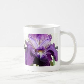 fleur, pourpre d'iris mug