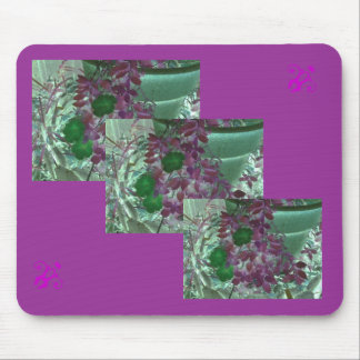 fleur tapis de souris