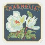 Fleur vintage de magnolia adhésifs
