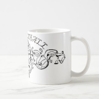 fleurdelisribbon-basketball. coffee mug