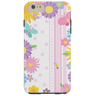 Fleurit l'iPhone 6/6S plus le cas Coque iPhone 6 Plus Tough