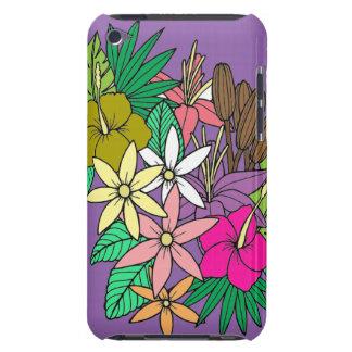 Fleurs 2 étuis iPod touch