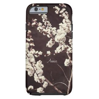 Fleurs de cerisier molles de tons coque iPhone 6 tough