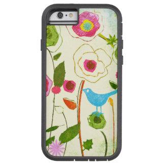 Fleurs de jardin d'aquarelle coque iPhone 6 tough xtreme