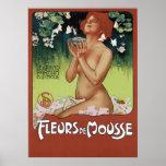 Fleurs de Mousse Posters