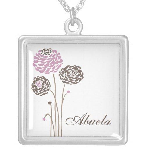 Fleurs élégantes de dahlia de collier d'Abuela