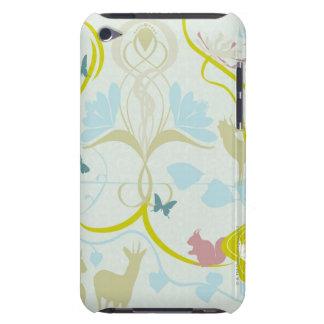Fleurs et animaux coque iPod Case-Mate