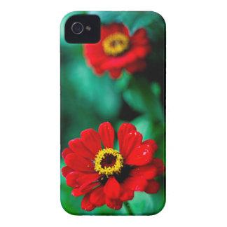 Fleurs rouges coque iPhone 4 Case-Mate
