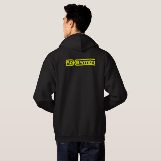 Flex Bormarr Yellow on Black Text Hoodie