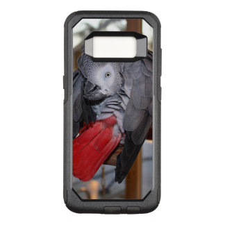 Flexible Congo African Grey Parrot with Red Tail OtterBox Commuter Samsung Galaxy S8 Case