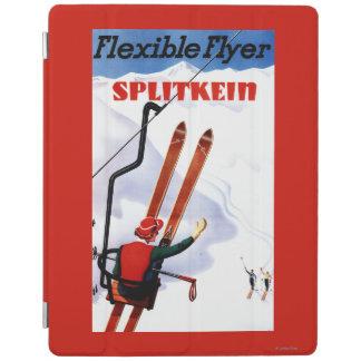 Flexible Flyer Splitkein Wooden Skis Promo iPad Cover