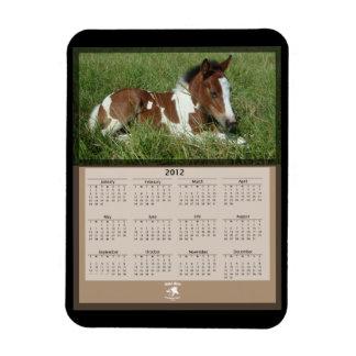 Flexible Magnet - Horse Calendar