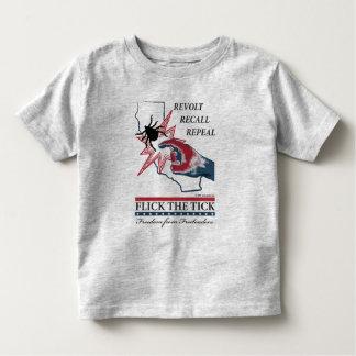 Flick The Tick -California Toddler Toddler T-shirt