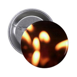 Flickering Flames Pin