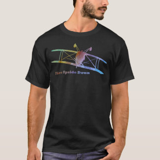 Flies Upside Down Stunt Plane T-Shirt