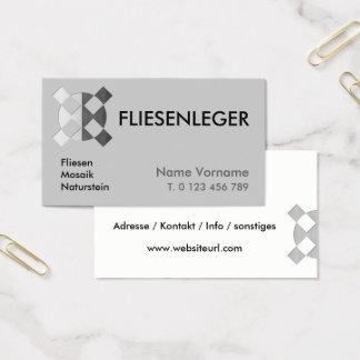 fliesenleger business card