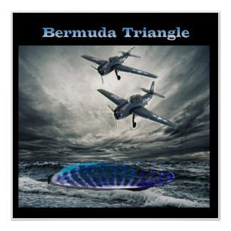 Flight 19 Bermuda triangle Poster
