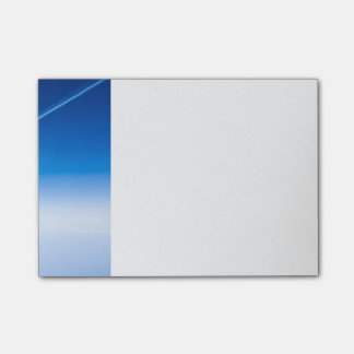 Flight above the clouds post-it notes