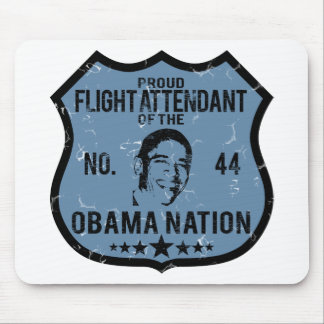 Flight Attendant Obama Nation Mouse Pads
