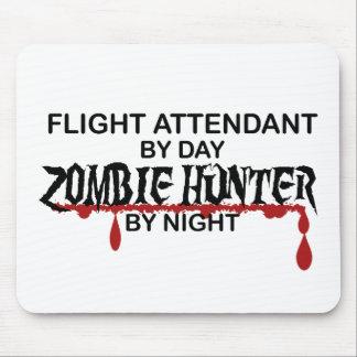 Flight Attendant Zombie Hunter Mouse Pad
