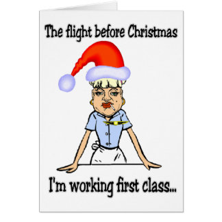 Flight Before Christmas Card