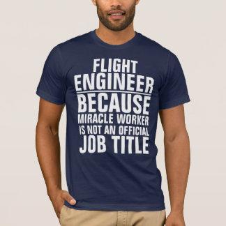 Flight Engineer job title shirt