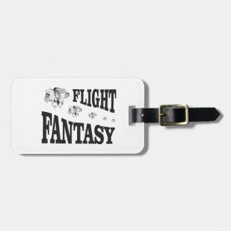 flight fantasy bag tag