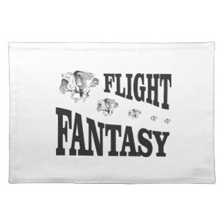 flight fantasy placemat