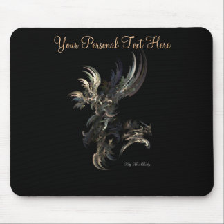 Flight Fractal Mouse Pad