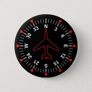 Flight Instruments 2 Inch Round Button