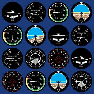 Funny Aviation Stickers | Zazzle CA