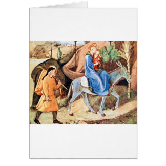 Flight into Egypt Card