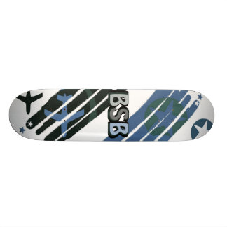 Flight Navy Skate Board Deck