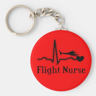 Flight Nurse Gifts Keychain
