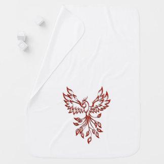 Flight of A Phoenix Baby Blanket
