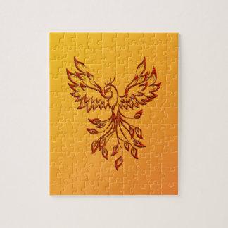 Flight of A Phoenix Jigsaw Puzzle