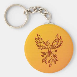 Flight of A Phoenix Keychain