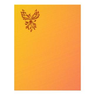 Flight of A Phoenix Letterhead