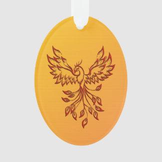 Flight of A Phoenix Ornament