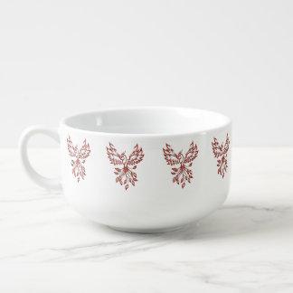 Flight of A Phoenix Soup Mug