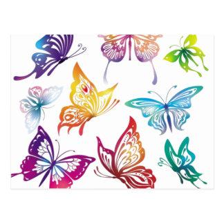 Flight of Butterflies Postcard