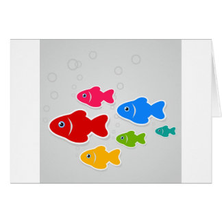 Flight of fishes3 card