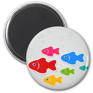 Flight of fishes3 magnet