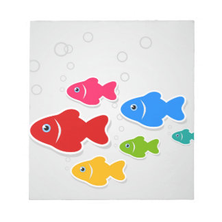 Flight of fishes3 notepads
