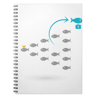 Flight of fishes4 notebook