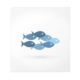 Flight of fishes5 notepad